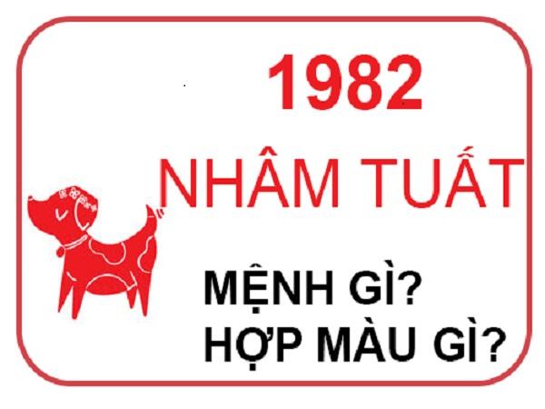 sinh năm 1982 mệnh gì