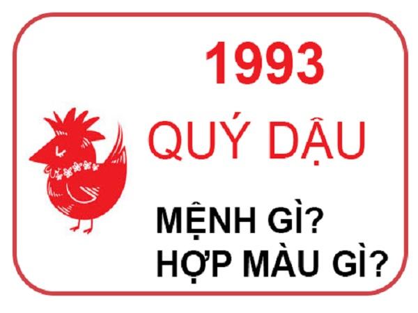 sinh năm 1993 mệnh gì