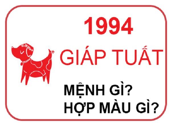 sinh năm 1994 mệnh gì