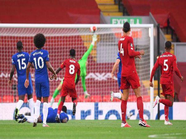 Liverpool Ghi 5 bàn vào lưới Chelsea, MU lên top 3