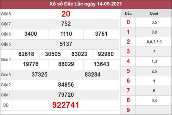 Dự đoán XSDLK 21/9/2021 soi cầu giải đặc biệt thứ 3